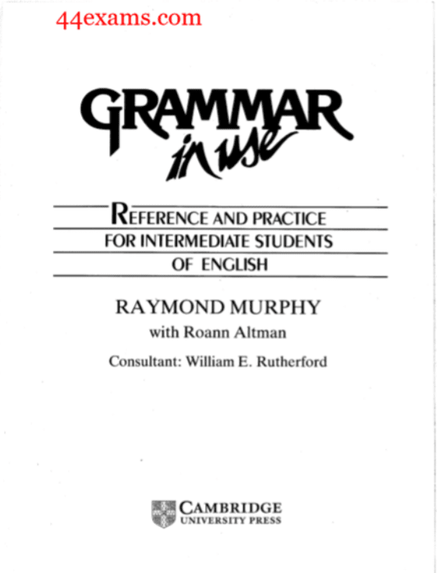 Grammar-in-use-By-Raymond-Murphy-PDF-Book