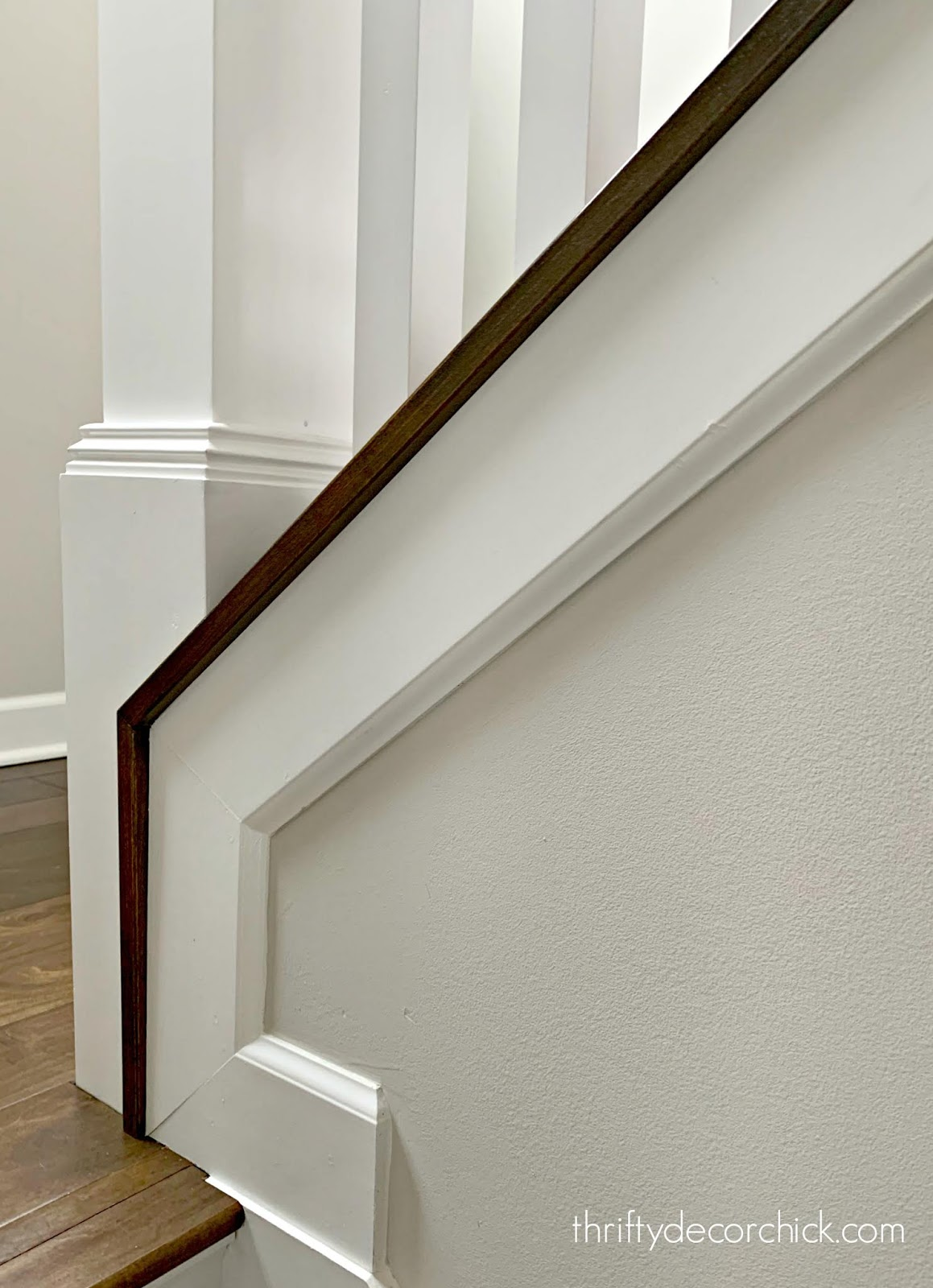 baseboard as stair trim