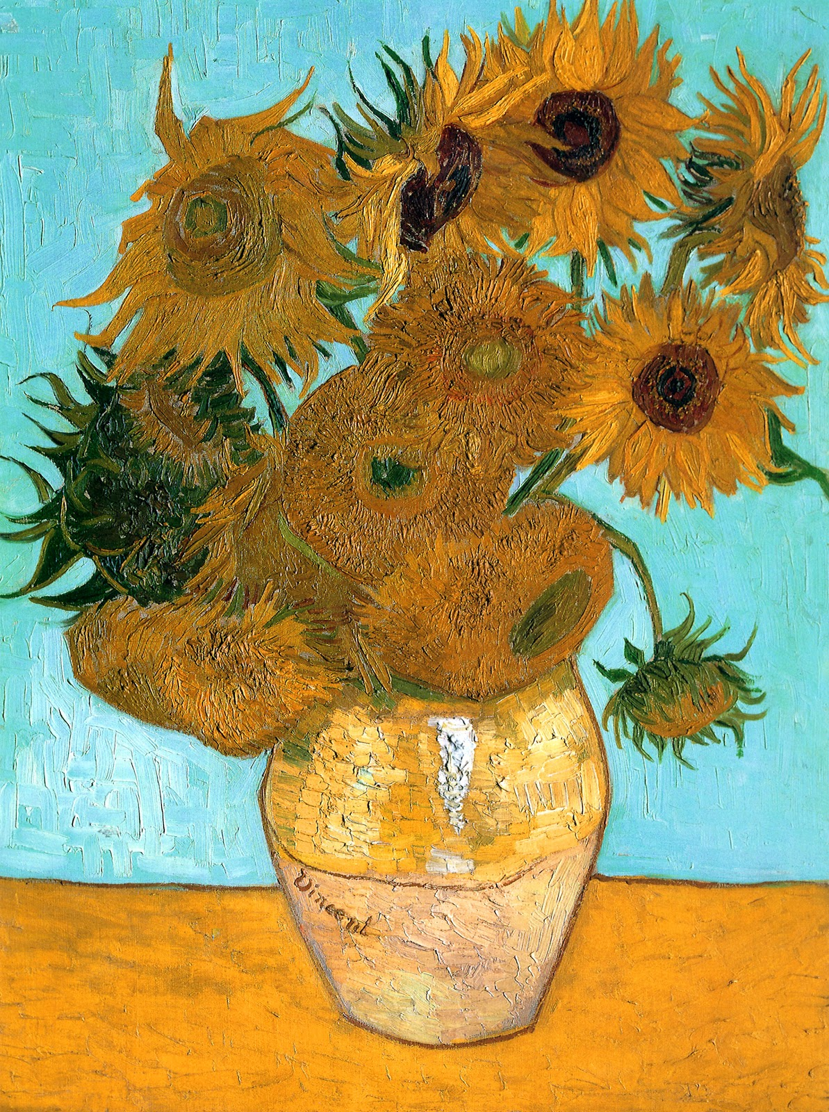 Vincent Van Gogh Paintings Sunflowers Art And Artists Vincent Van Gogh Flowers Part 2