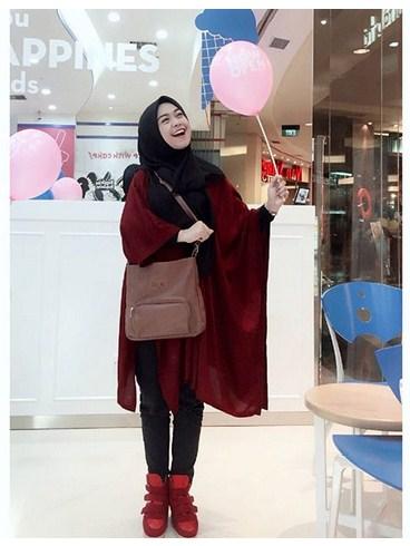Jadikan Style Fashion Hijab Modern Terbaru Ala Ria Ricis