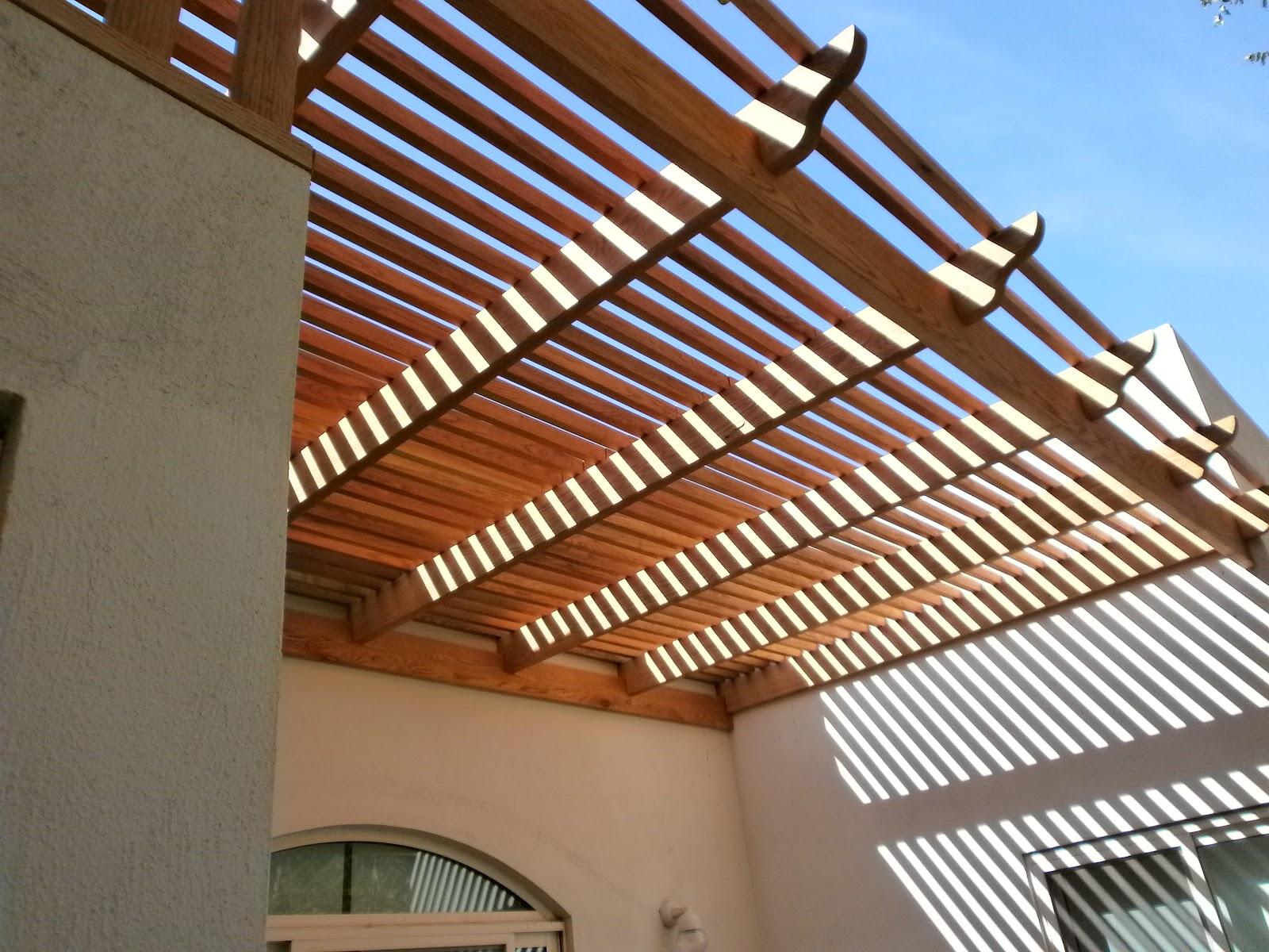 Pergola y deck - Construccion de pergolas de madera ...