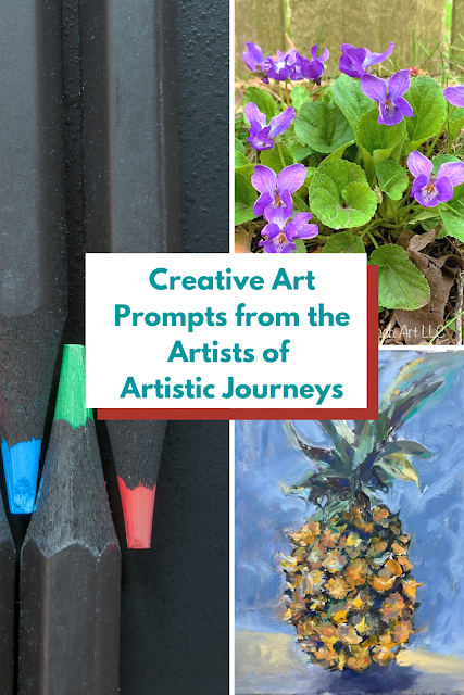 Creative Art Prompts from the Local Artists of Artistic Journeys in the Chicago suburbs