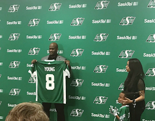 Image result for vince young saskatchewan roughriders