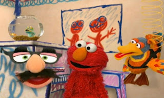 Groucho Marx glasses and Elmo appears after The Eyes Song. Elmo's World Eyes The Eyes Song