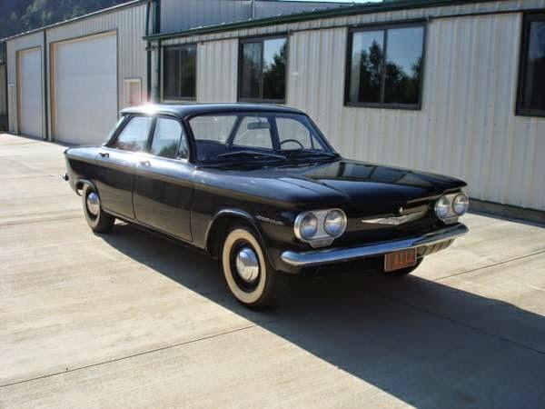 Original Survivor 1960 Chevrolet Corvair Auto Restorationice