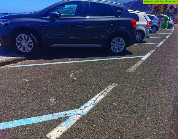 Santa Cruz de La Palma aumenta 110 plazas de aparcamientos de zona azul para facilitar las compras navideñas