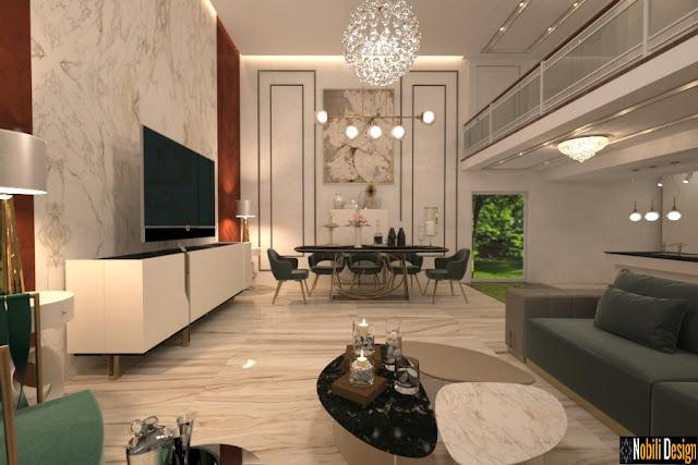 Servicii de design interior case vile in Constanta