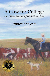 cover image: boy on horse in cow pasture