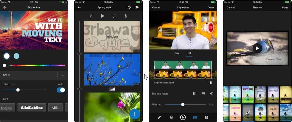 تطبيق  WeVideo
