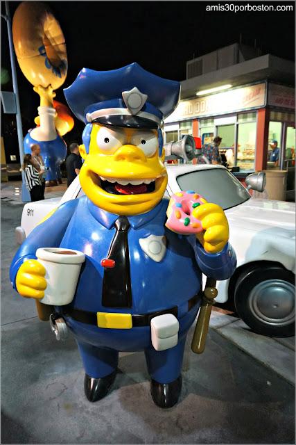 Jefe Wiggum en Universal Orlando, Florida