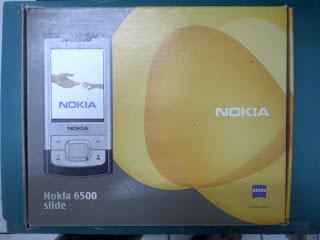 Dus Nokia 6500 Seken