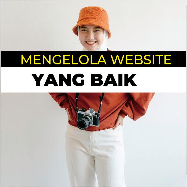 Cara Mengelola Website Yang Baik