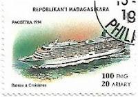 Selo Navio de Cruzeiro do Japão