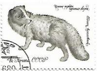 Selo da União Soviética, Raposa do Ártico