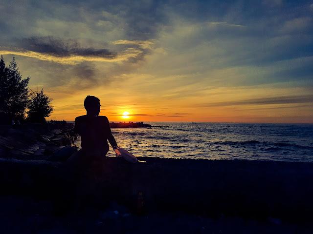 sunset terbaik di bengkulu