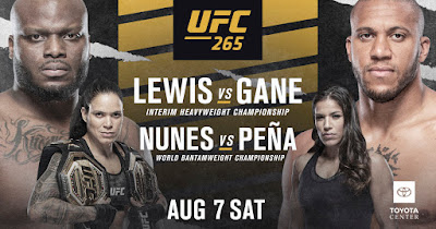 UFC 265 Lewis vs Gane Live Stream