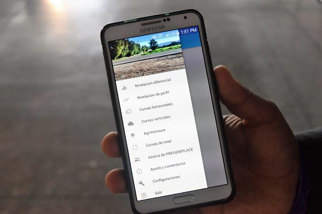 Mexicanos presentan aplicación móvil para Topografía: Previewplace