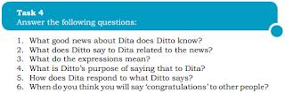Pembahasan Soal Bahasa Inggris Kelas 10 Chapter 2 Task 4 Halaman 25