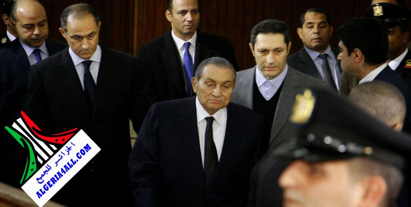 جنازة محمد حسني مبارك الرئيس المصري الاسبق