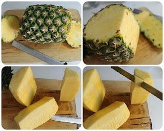 Smoothie ananas e cocco
