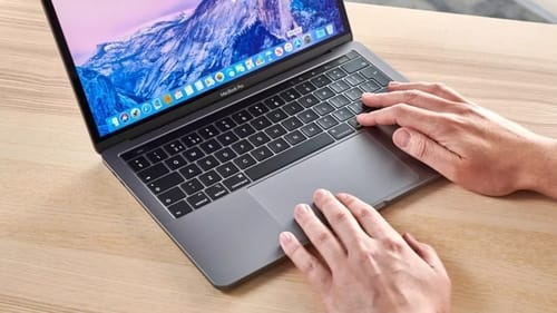 Macbooks may get glass keys