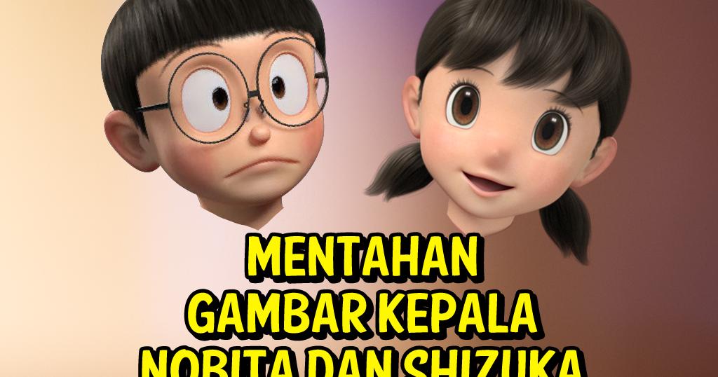 Galeri Kita Mentahan Gambar Kepala Nobita Doraemon Hd