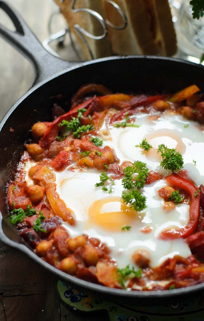 Easy Shakshuka for breakfast