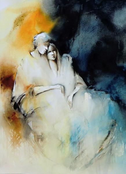 Pia Erlandsson Swedish Watercolor Painter Tutt Art