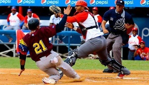 La selección cubana de béisbol se despidió con derrota por blanqueada 3-0 del estadio Antonio Herrera Gutiérrez, en Barquisimeto