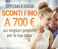 Logo Sconti fino a 700 euro con lo Speciale Casa di MonClick