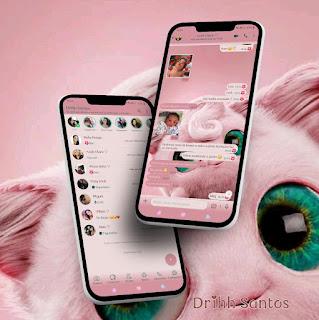 Cute Cat Theme For YOWhatsApp & Fouad WhatsApp By Driih Santos