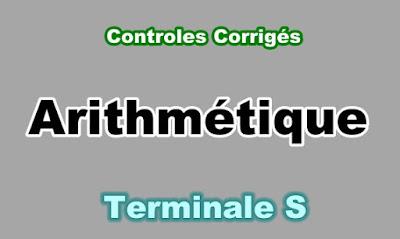 Controles Corrigés Arithmétique Terminale S PDF