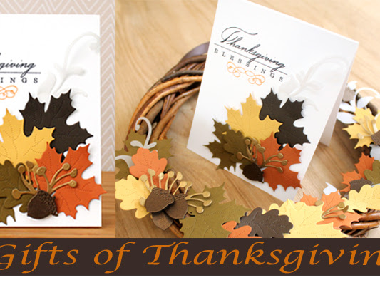 Gifts of Thanksgiving with CutCardStock.com