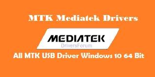 All MTK USB Driver Windows 10 64 Bit