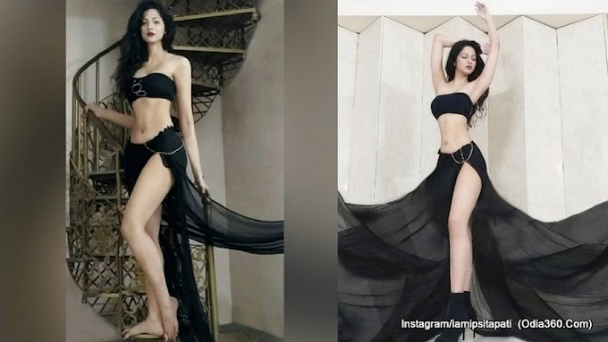 Odia Celebrity Ipsita Pati's Most Hot Look in Black Outfits - Check Photos