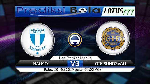 Prediksi  Malmo vs GIF Sundsvall Rabu 29 Mei 2019