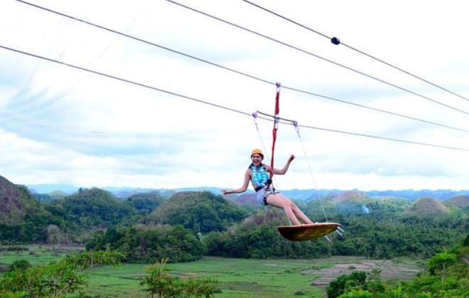 Chocolate Hills Adventure Park, Bohol