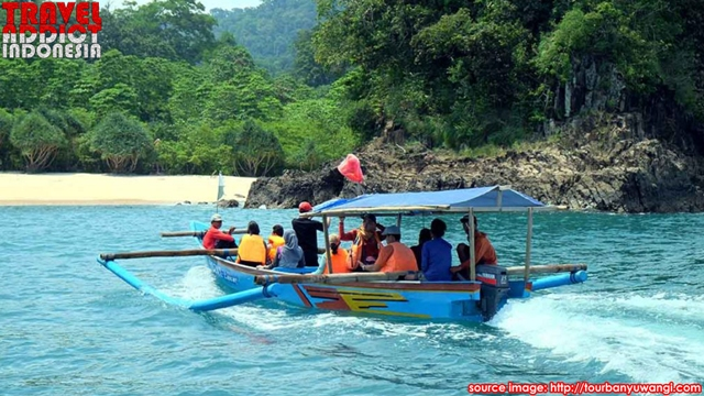 Beauty of Virgin Beach in Indonesia