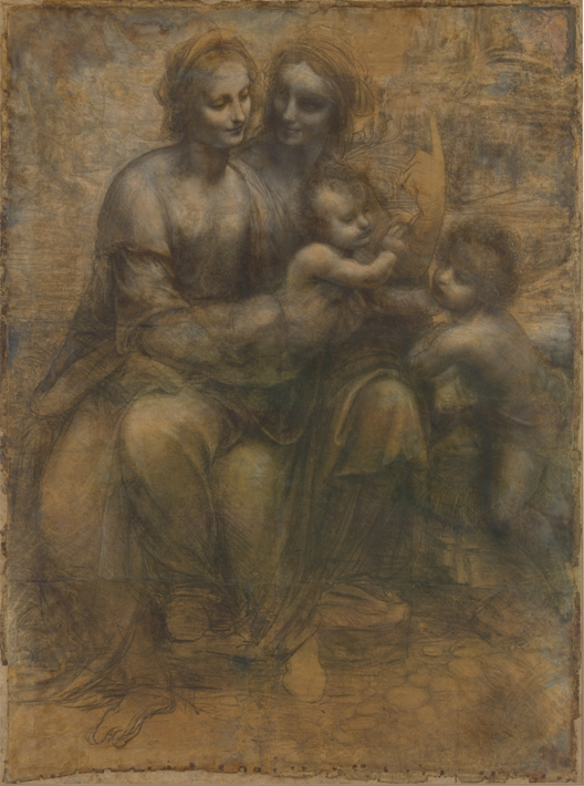 The Virgin and Child with St. Anne and St. John the Baptist (c.1499–1500)—National Gallery, London