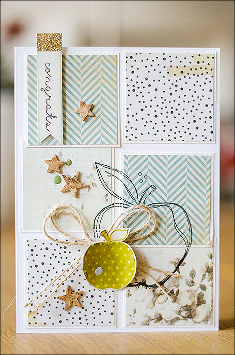 Stephanie Berger - Cardmaking - Applecard