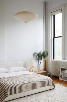 minimalistische Schlafzimmerbilder
