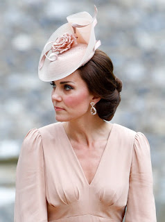 HRH The Duchess of Cambridge - Kate Middleton - Morganite Earrings - Jewellery Blog - Jewellery Curated