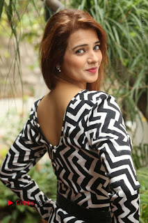 Actress Saloni Latest Pos in Short Dress  0032.JPG