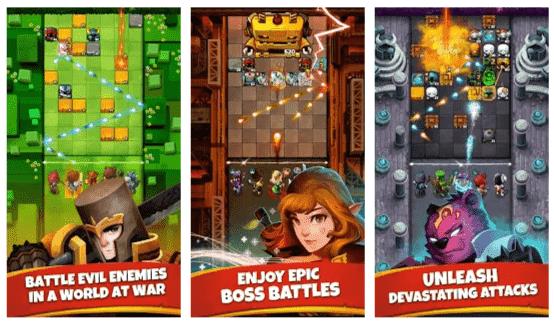Battle Bouncers Mod Apk