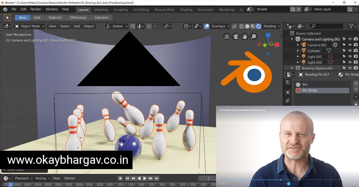 Blender Full Udemy course Download for free | for Beginners