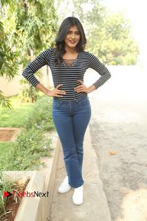 Actress Hebah Patel Stills in Jeans at Nanna Nenu Naa Boyfriends Teaser Launch  0202