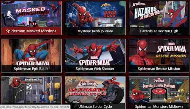 Game Spiderman Online