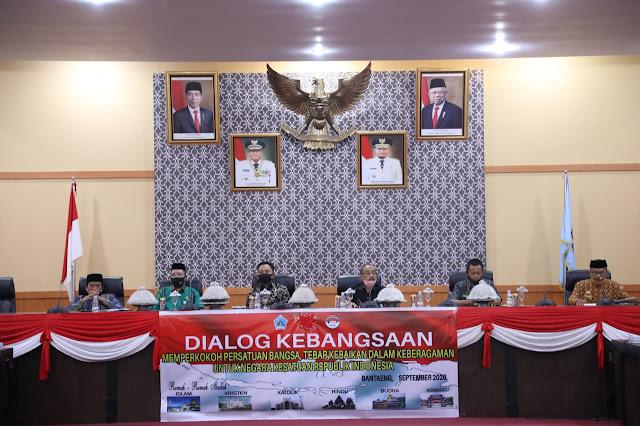 Jadi Keynote Speaker Dialog Kebangsaan, Bupati Bantaeng Ajak Jaga Kondusivitas