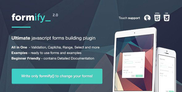Formify v2.0 – JavaScript library