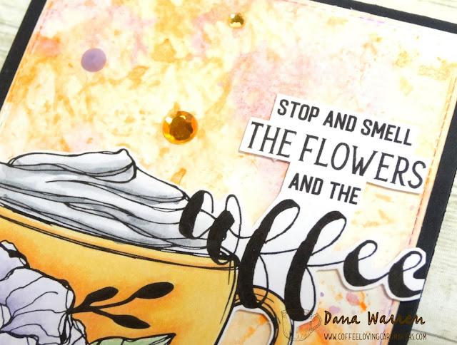 Dana Warren - Kraft Paper Stamps - Graciellie Designs - Watercolor Smooching